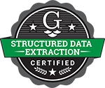structured data extraction training badge